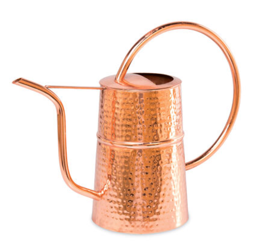 copper watering can gift ideas for gardeners